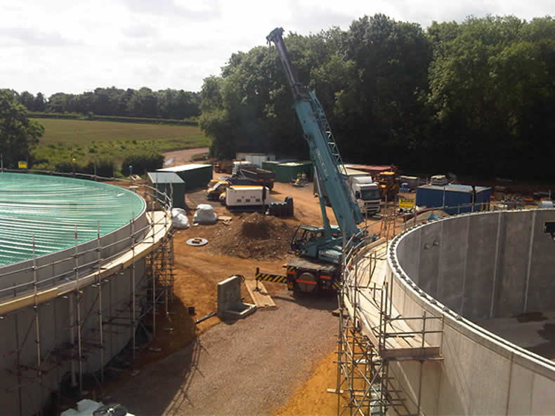 Anaerobic Digester Construction